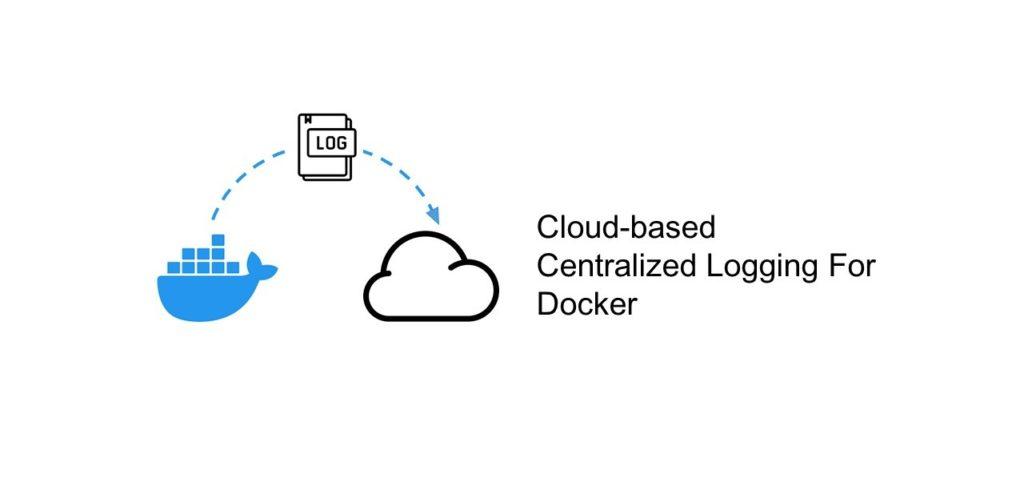 an image depicting cloud based logging for docker
