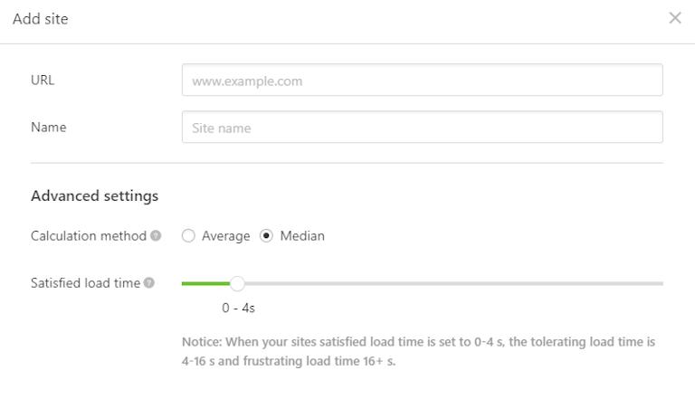 website load monitoring