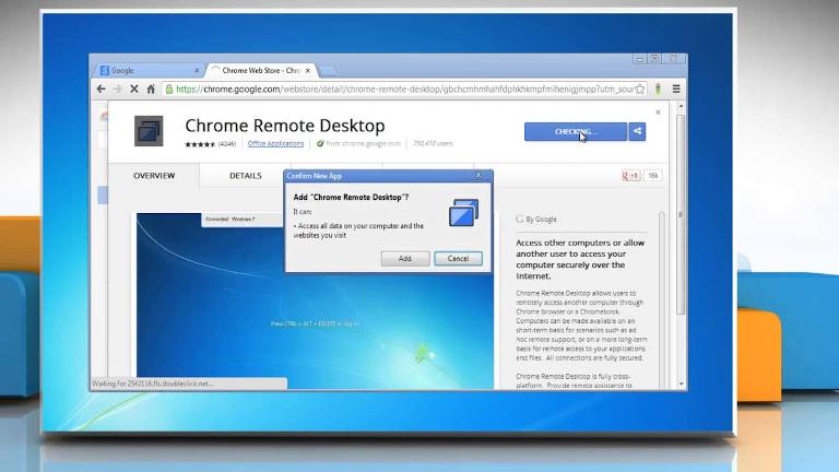 downloading chrome remote desktop extensions