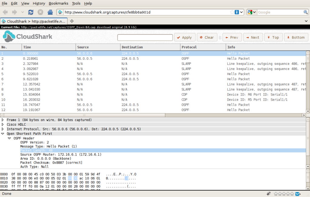 Wireshark for Network Monitoring – Cloudshark